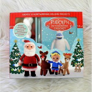 Rudolph the Red Nose Reindeer Crochet Kit